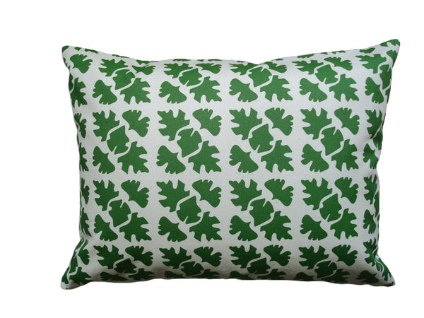 Shade Check pillow leaf CSH3