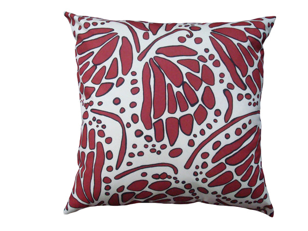 Wings pillow red CWI12