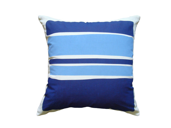 Color Block pillow cobalt LCB5