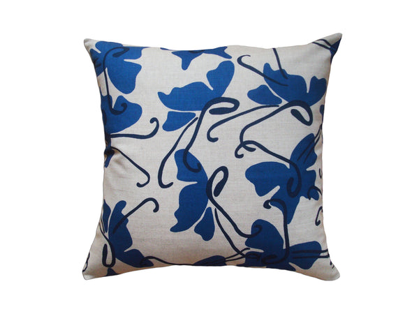 Butterfly pillow cobalt LCBU13