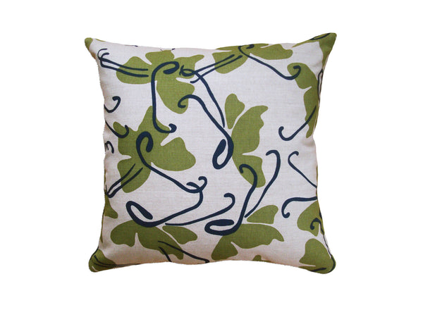 Butterfly pillow moss LCBU14