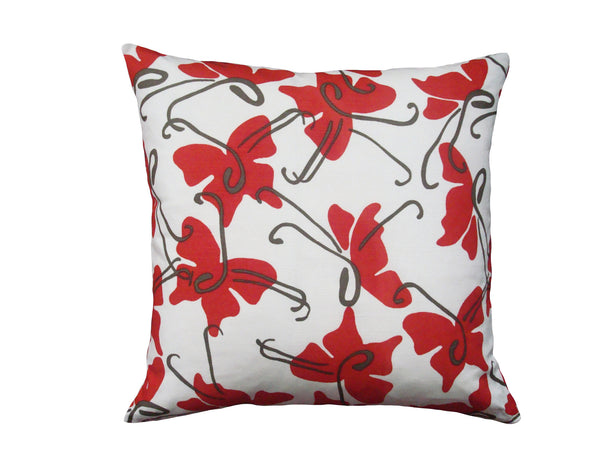 Butterfly pillow red LCBU4