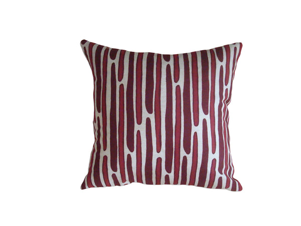 Morris pillow crimson/wine LCMO29
