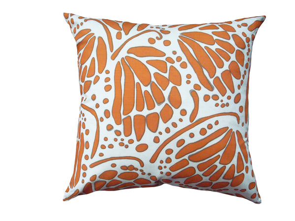 Wings pillow tangerine LCWI16