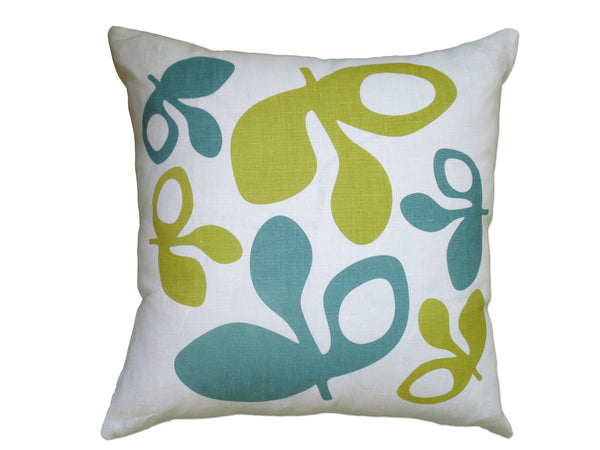 Pod pillow blue/yellow
