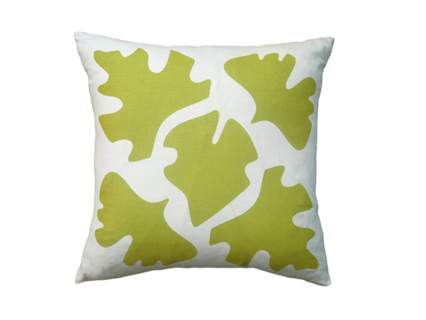 Shade pillow yellow