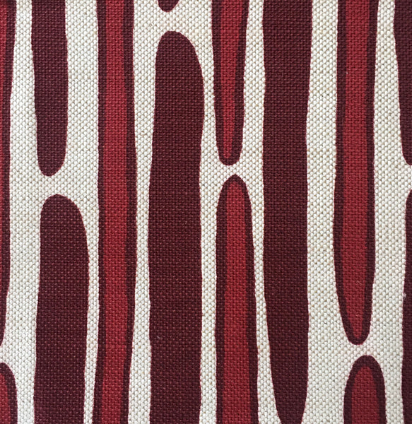 MORRIS CRIMSON/WINE SWATCH