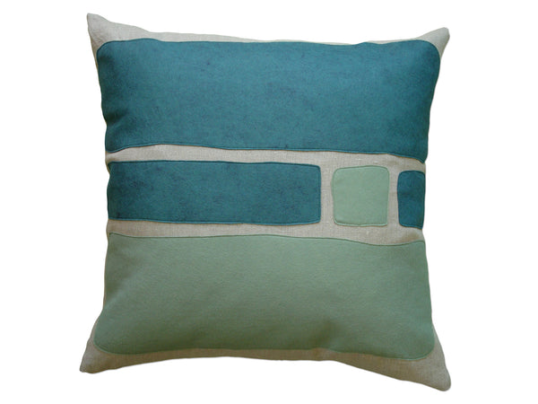Big Block pillow brook/loden