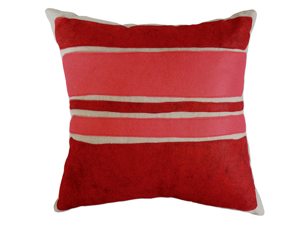 Color Block pillow red/strawberry
