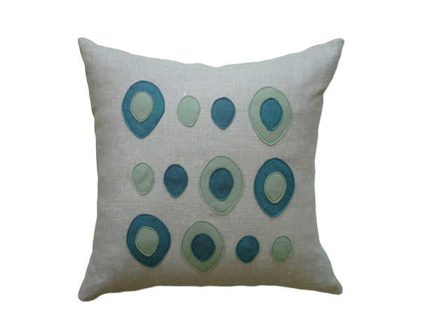 Eggs pillow brook/loden