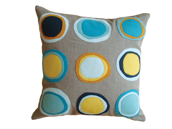 Mona pillow coastal NMONA3