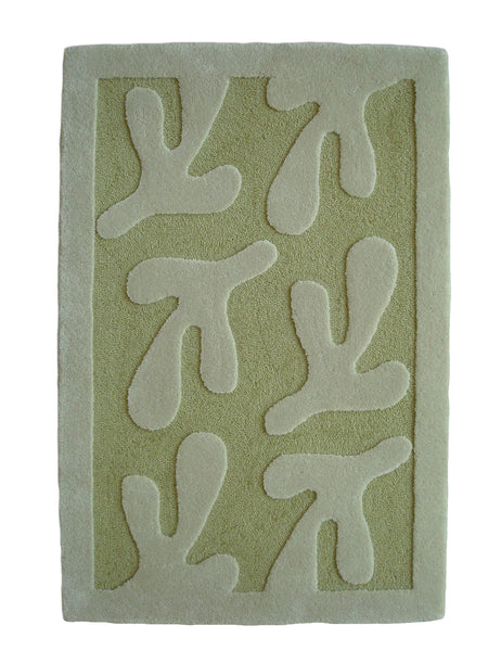 Bird's Feet Rug Grass 2'x3'