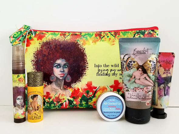 Assorted Gift Set in Into the Limelight Cosmetics Pouch