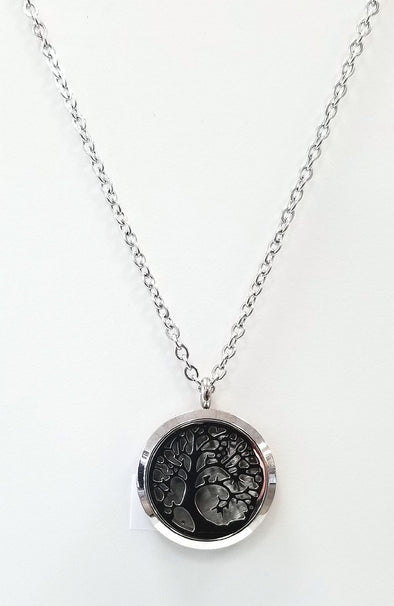 Diffuser Necklace - Tree of Life (Silver)