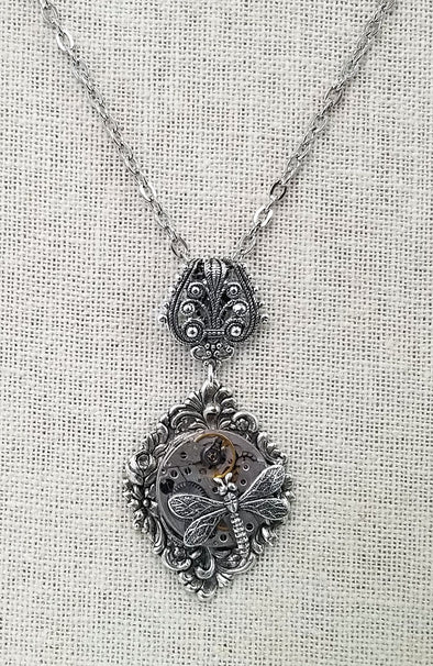 Arcane Angel ~ Across the Pond Necklace