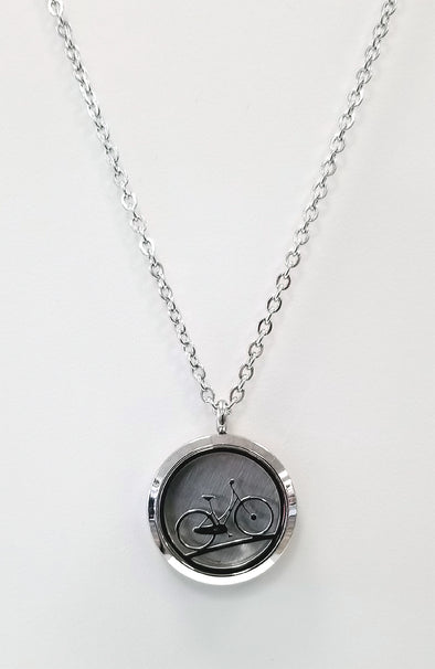 Diffuser Necklace - Bicycle