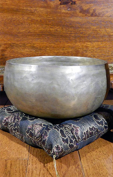 Tibetan Hand Hammered Multi Metal Singing Bowl 18