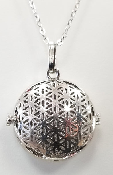 Diffuser Necklace - Creation (Flower of Life)