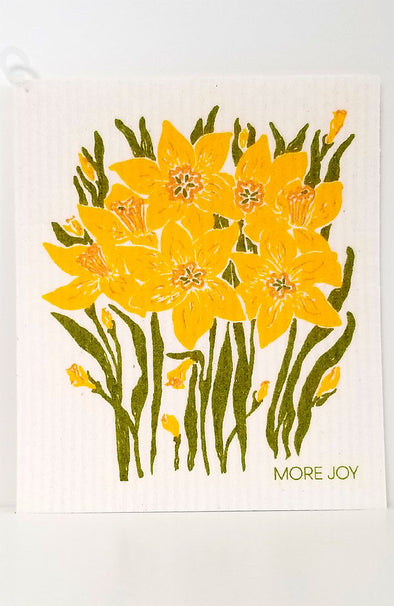 More Joy ~ Swedish Cloth Daffodils