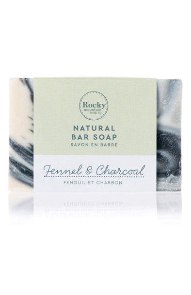 Rocky Mountain Soap Fennel & Charcoal