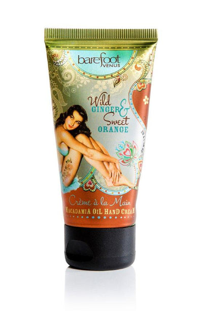 Macadamia Oil Hand Cream - Wild Ginger & Sweet Orange