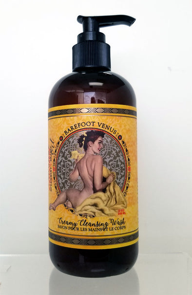 Essential Oil~Creamy Cleansing Wash - Mustard Bath Line