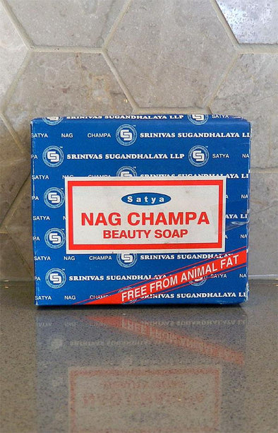 Satya Nag Champa Beauty Bar Soap