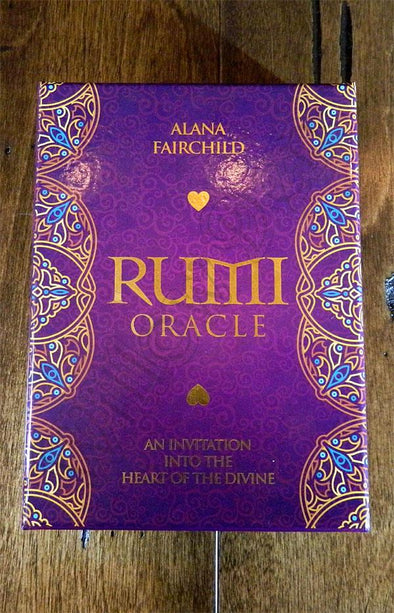 Rumi Oracle - An invitation into the heart of the divine.