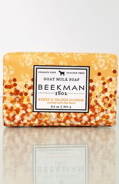 Beekman 1802 ~ Honey & Orange Blossom Goat Milk Soap