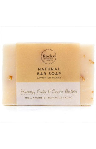 Rocky Mountain Soap Honey, Oats and Cocoa