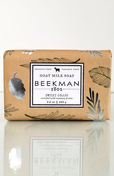 Beekman 1802 ~ Sweetgrass Goat Milk Soap