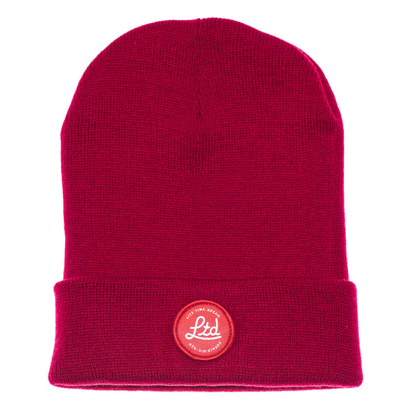 Micro Dot Beanie / Red