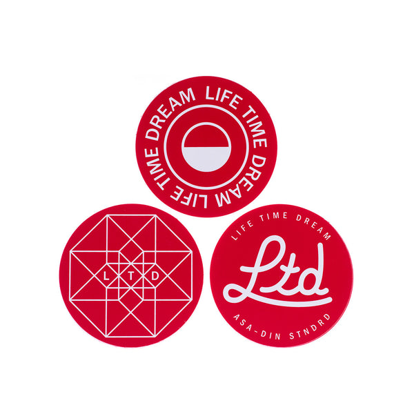 ASSORTED CIRCULAR STICKER PACK