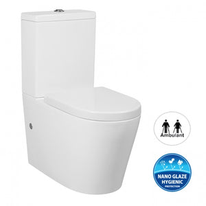 ALZANO BOX RIM TOILET SUITE