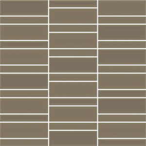 AC-06717A 300X300 CONTEMPO PEWTER GLASS MOSAIC