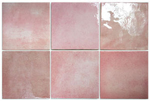 AC-1224C 132X132 ARTISAN ROSE MALLOW GLOSS