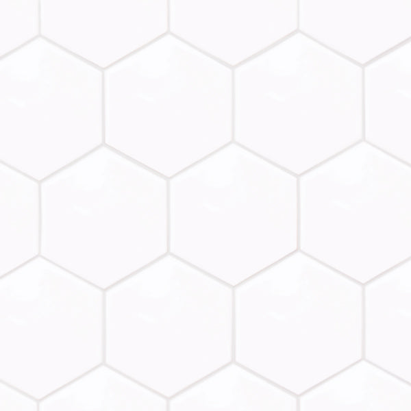 AC-3043C 175X200 HEXATILE BLANCO BRILLO
