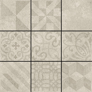 AC-3341D 200X200 LUCCA ROCK GREY MIXED DECOR