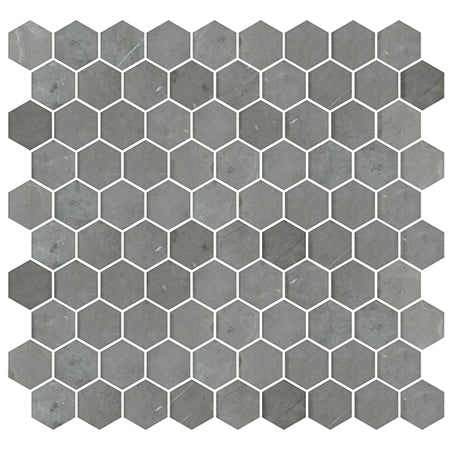 AC-7734A 272X282 PIETRA GREY HEXAGON HONED