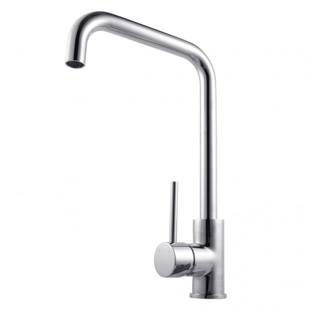 CH1027.KM Round Chrome Swivel Kitchen Sink Mixer Tap AQ