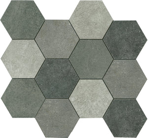 COLMIXA-COLONEL HEXAGON MOSAIC MIX 86X86