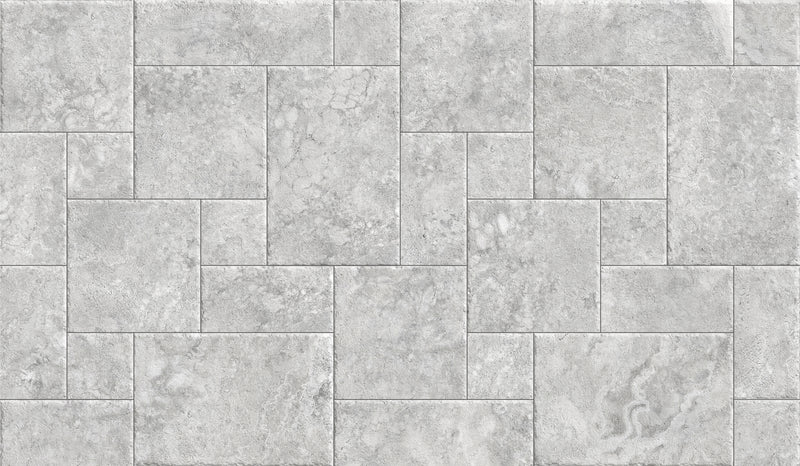 FPFLOSVM-PFA3 FLORENCE TRAVERTINE SILVER EXTERNAL FRENCH PATTERN