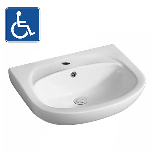 Gloss White – Wall Hung Basin PW5542