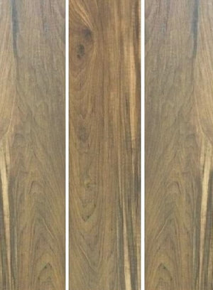 LEGNO WALNUT-120 X 20 Woodgrain Glazed Porc 9MM