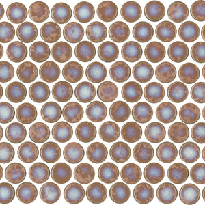 ORB027-PNR-56S ORBIT GLOSS CORAL PENNY ROUND 20X20