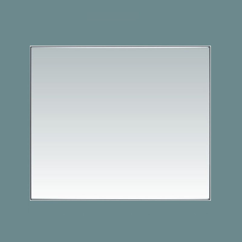 Plain mirror with Vinyl backing and neutral cure silicone