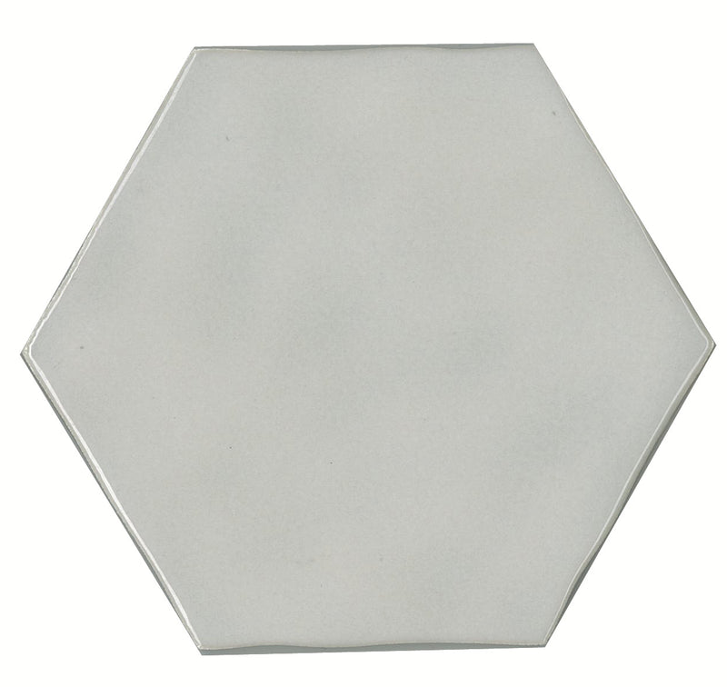TOUGYH1-TOUH75152 TOUCH GREY HEXAGON GLOSS 130X150