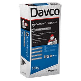 Davco 15kg #49 Light Grey Sanitized Colourgrout