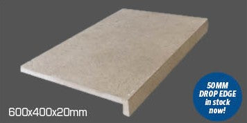 Nauge Beige pool coping