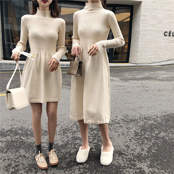Mallory Knit Long Sleeve Dress